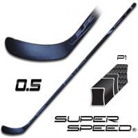 Hokejová hůl SUPERSPEED 0.5 P1 SENIOR